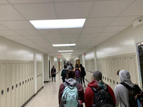 Hallway before full weeks began