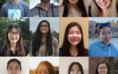 2021 Quill and Scroll winners: Tosh Klever '21, Owen Aanestad '22, Zoey Guo '22, Maddy Smith '22, Soomin Koh '22, Fareeha Ahmad '21, Helen Zhang '22, Maya Chu '23, Hanah Kitamoto '22, Heidi Du '23, Grace Huang '22 and Alice Meng '21.