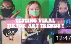 Trying TikTok Art Trends