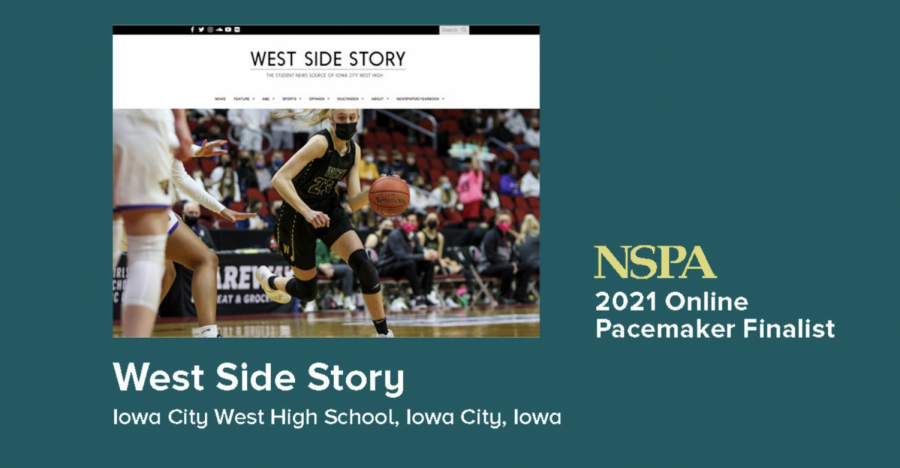 NSPA names West Side Story an Online Pacemaker finalist