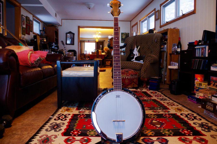 Gwen Watson got their banjo from a family friend.