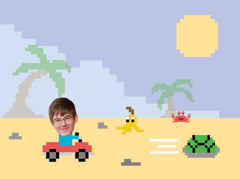 Jack Gluesing 21 achieved the world record lap time for Mario Karts Shy Guy Beach track.