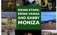 Rising stars: Gabby Moniza '24 and Erinn Varga '24