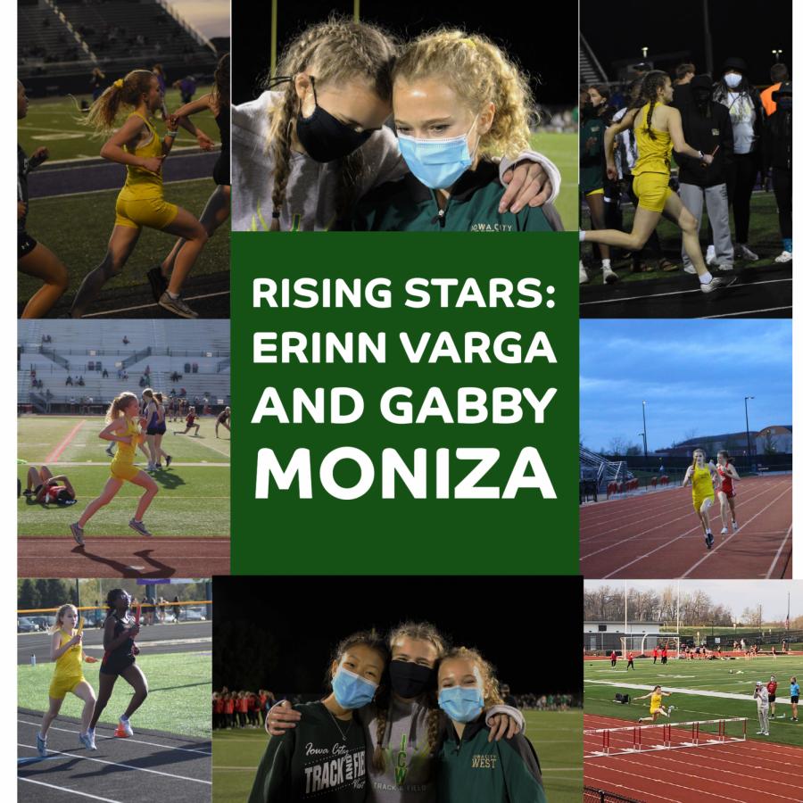 Rising stars: Gabby Moniza 24 and Erinn Varga 24