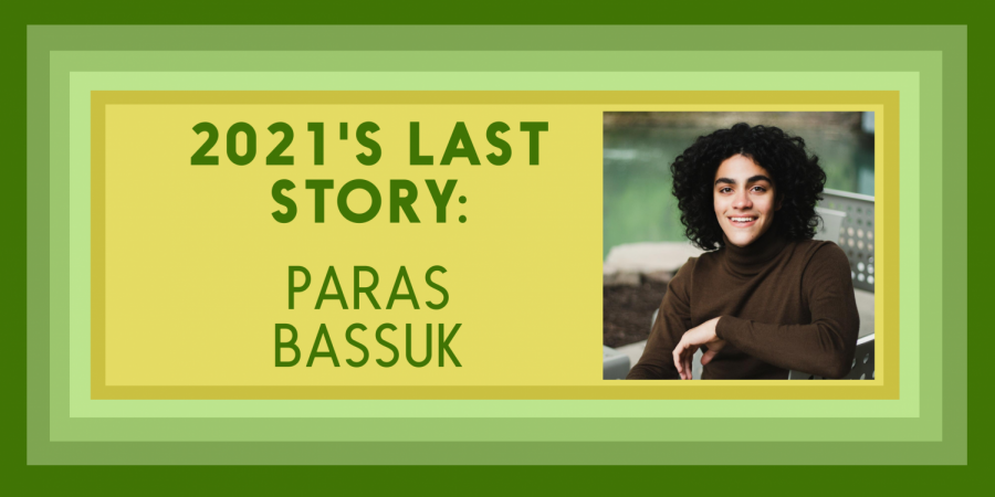 Paras Bassuk '21 advocates for students to have a say in Iowa government.