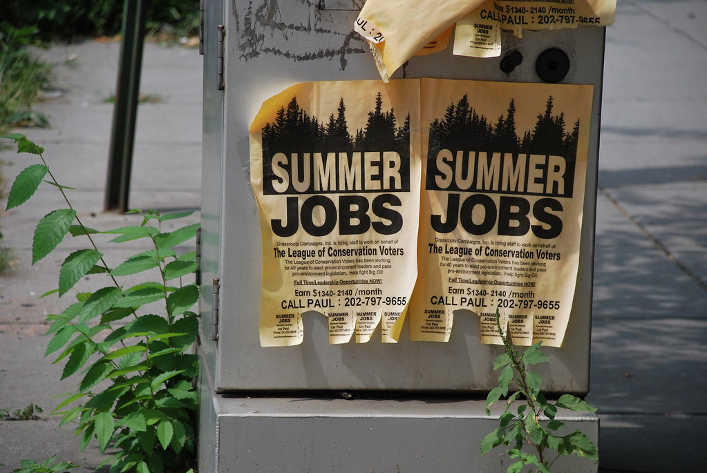 Summer jobs: the good, the bad and the ugly