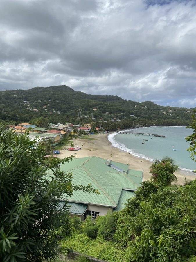 A humid, cloudy day in Grenada is made much better by the view from this cliff. This cliff is actually well-known throughout the small island of Grenada because decades ago, native people fighting for their rights against British colonial powers jumped off this cliff to their deaths as a sign of protest.