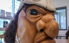 Hector the Trojan poses for a picture in the West Side Story newsroom on June 4.