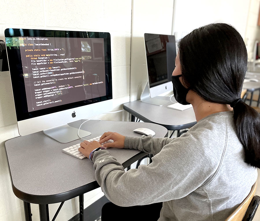 The new Cyber Security Club allows students to expand their digital knowledge.
