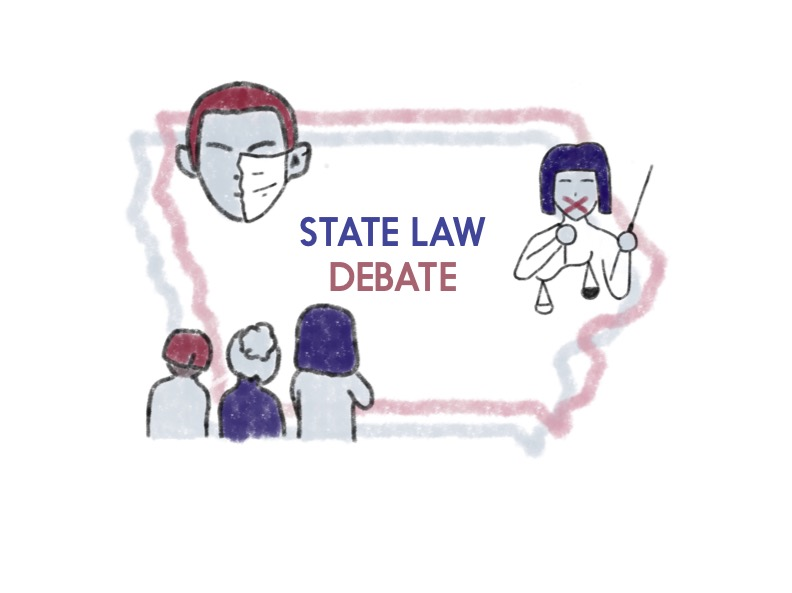 Students give their opinions on recent state laws and how these laws relate to local control.
