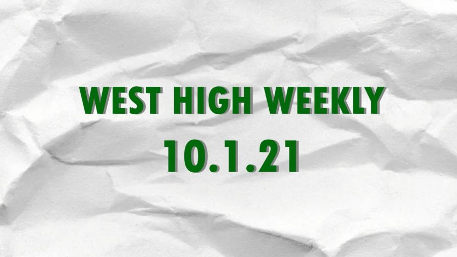 West High Weekly 10.1.21